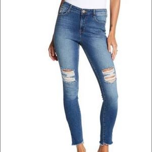 WilliamRast sculpted high rise jeans